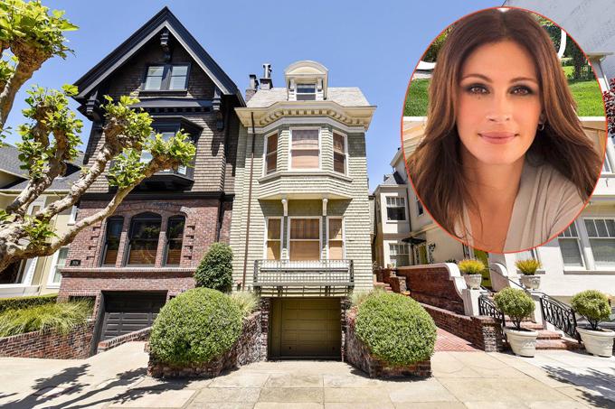 Biệt thự liền kề Julia Roberts vừa mua ở San Francisco, California.